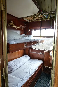 Bosphorus Express sleeping car