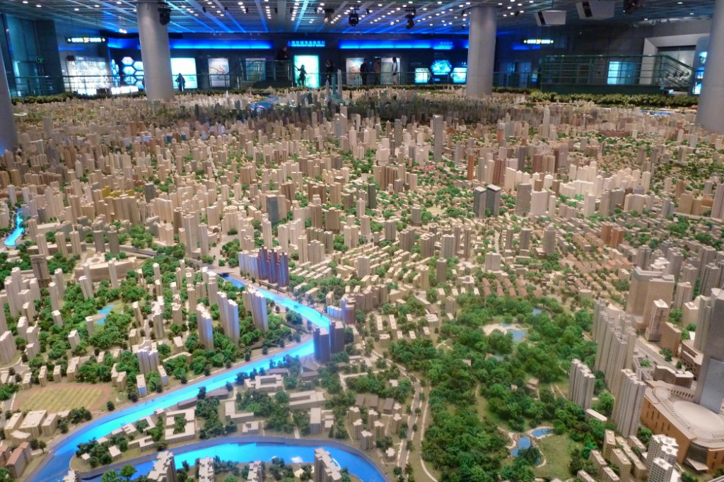 Shanghai Urban Planning Exhibition maquette