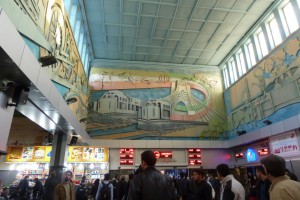 Station Teheran stationshal Iran