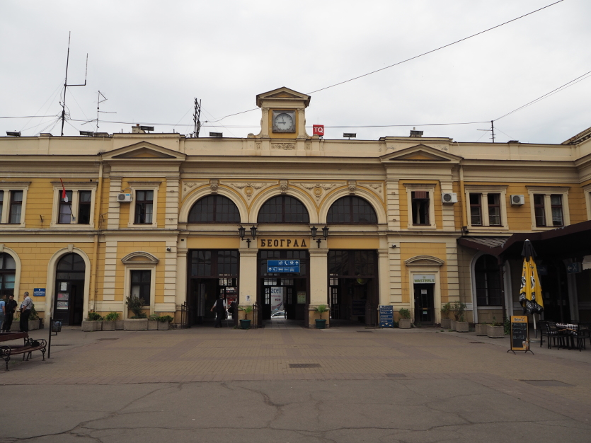 belgrade railway station Servië
